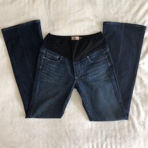 Paige maternity jeans- bootcut